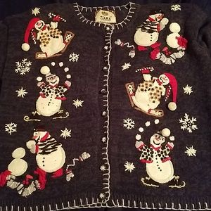 Ugly Snowman Sweater